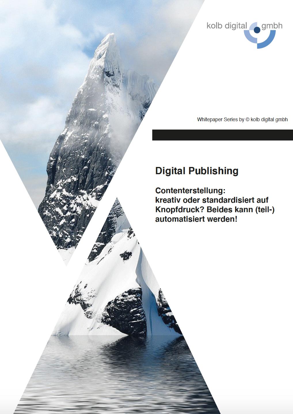 kolb digital whitepaper print publishing